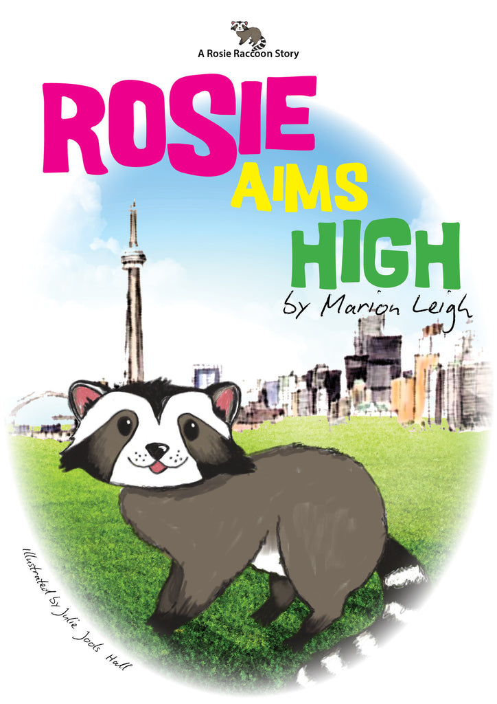 Rosie Aims High Commemorates a Raccoon's Epic Climb!