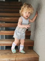 Cabooties Rainbow Baby Soft Sole Shoes on Brand Rep Mirella