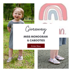 Miss Monogram Shirt and Cabooties Shoes Giveaway