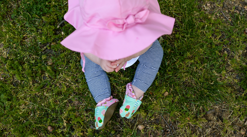 Mia in Ice Cream Cabooties Baby and Toddler Shoes
