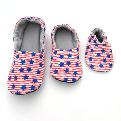 Stars and Stripes Shoes and Slippers