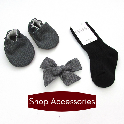 Shop Cabooties Bows, Little Stocking Co Socks, Pacifier Clips, and More