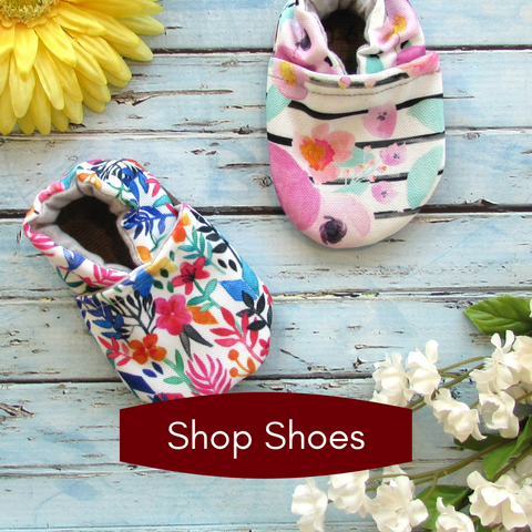 Shop Cabooties Handmade, Washable, Vegan Baby and Toddler Shoes that Really Don't Fall Off!