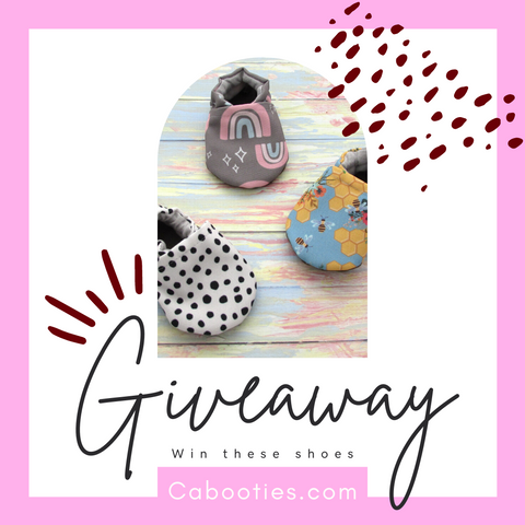 Win a pair of Cabooties Vegan Baby Shoes for yourself and a friend