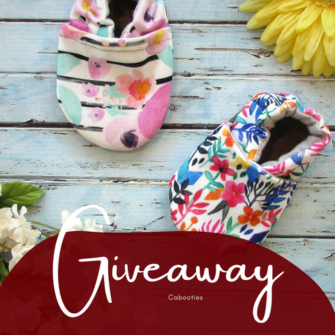 Cabooties Soft Sole Baby Shoes Giveaway