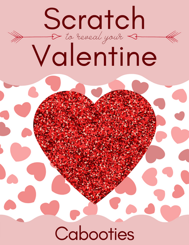 Cabooties Valentines Scratch Off