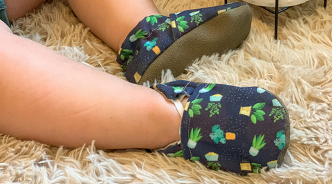 House Plant Cabooties Best Washable Baby and Toddler Shoes That Don't Fall Off