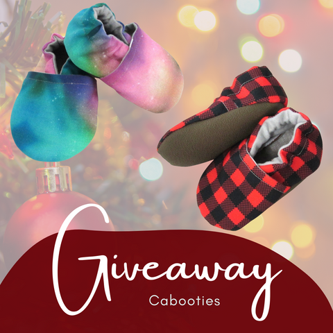 Cabooties Winter Baby Shoes Giveaway