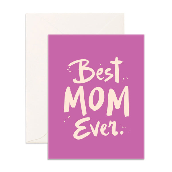 Best Mom Ever Card - Cabooties