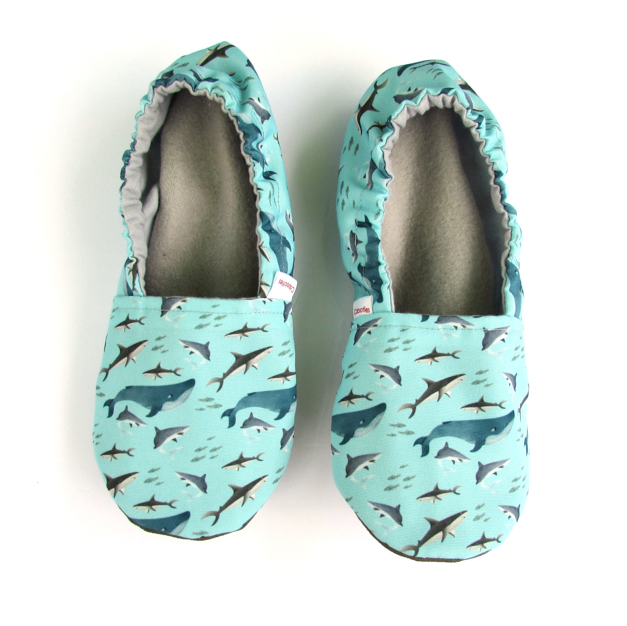 Sharks Eco Canvas Women's Slippers