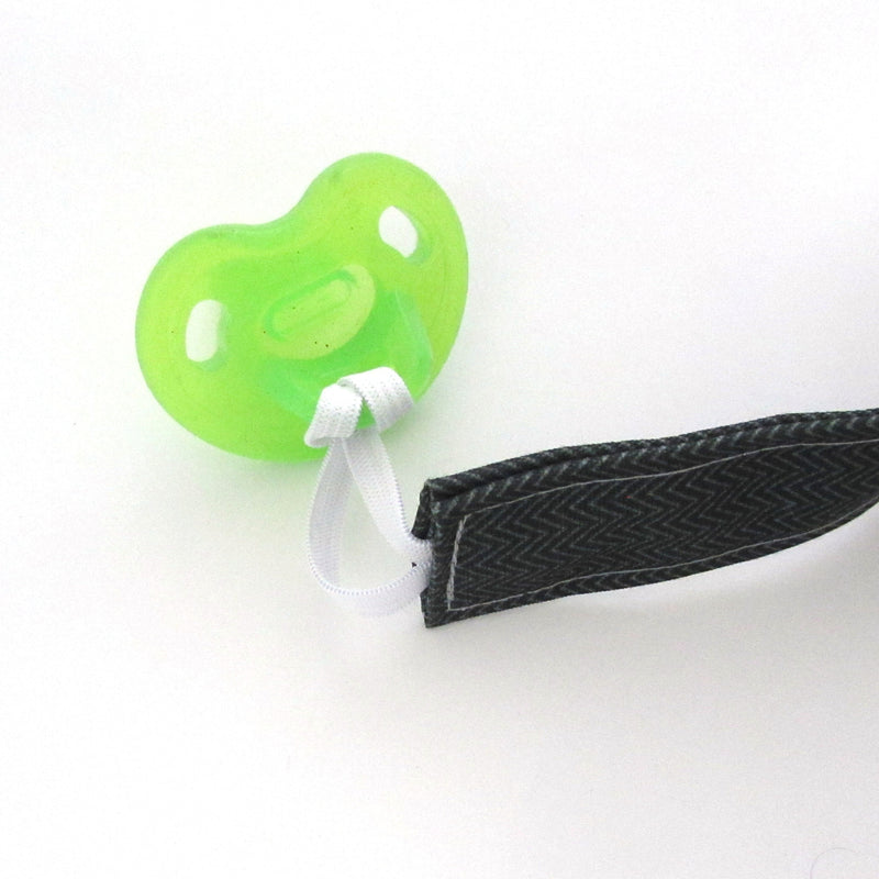 Winter Foliage Pacifier Clip