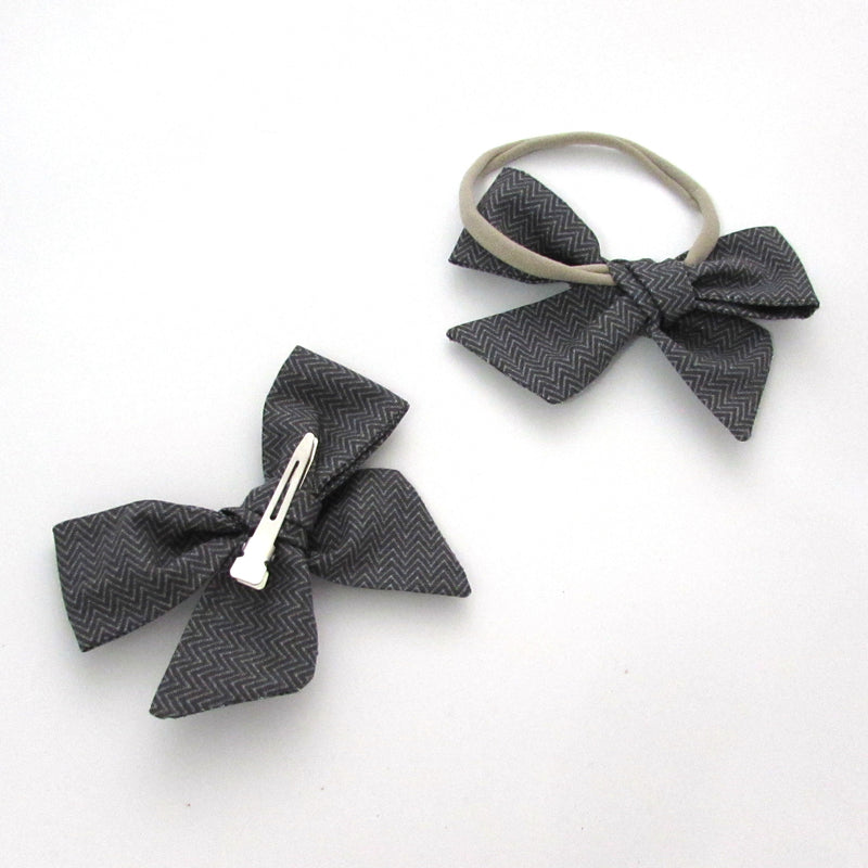 Winter Foliage Hair Bow