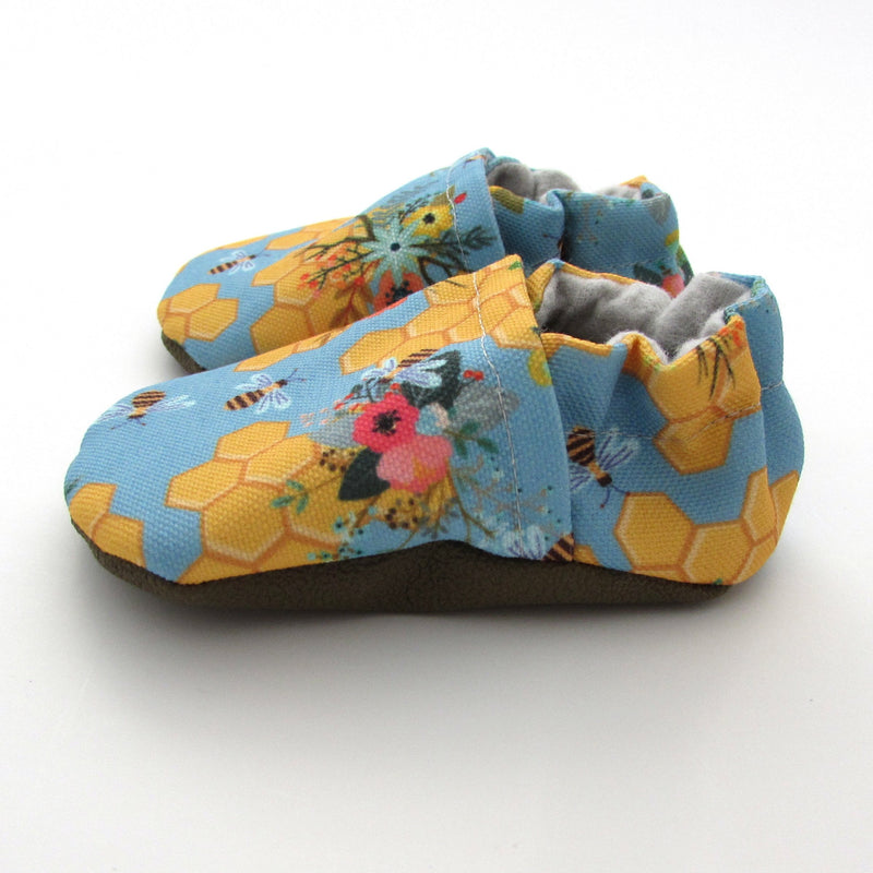 Honey Bees Baby Shoes