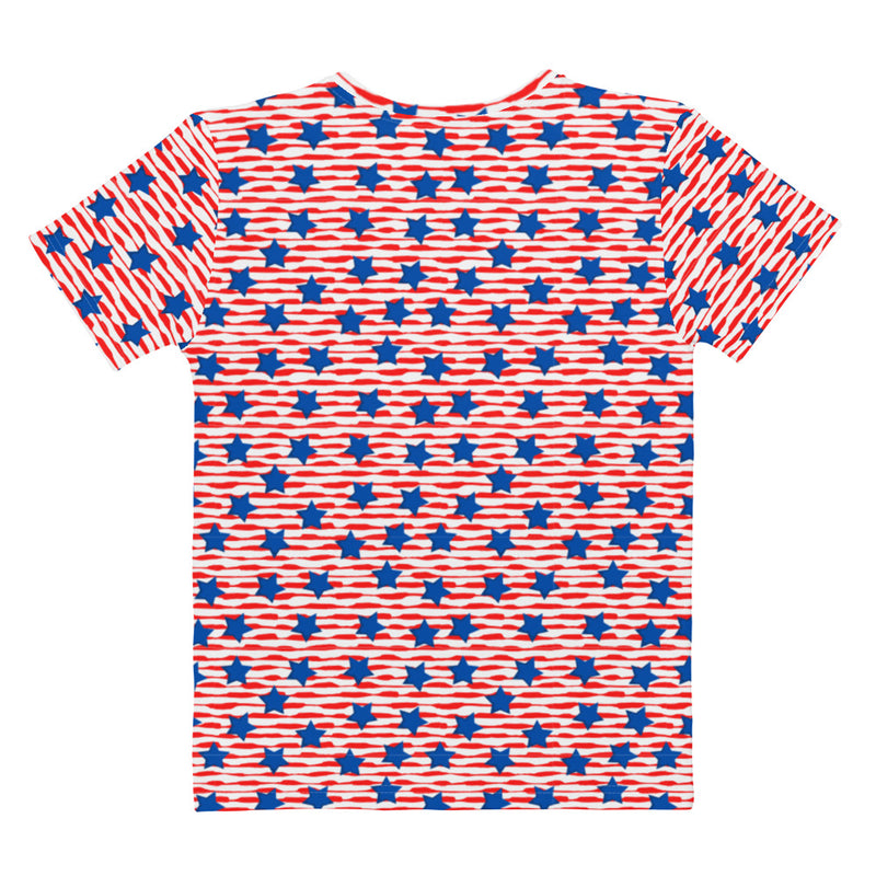 Stars and Stripes Women's T-shirt