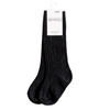 Black Little Stock Co Knee Socks