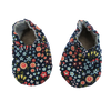 Blue Floral Baby Shoes
