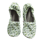 Dino Eco-Canvas Adult Slippers