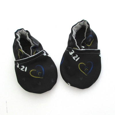 3.21 Recycled Canvas Baby Shoes for World Down Syndrome Day