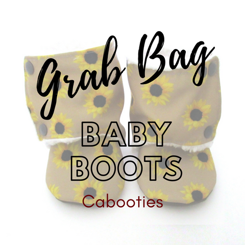 Mystery Grab Bag Soft Sole Baby and Toddler Boots that don't fall off