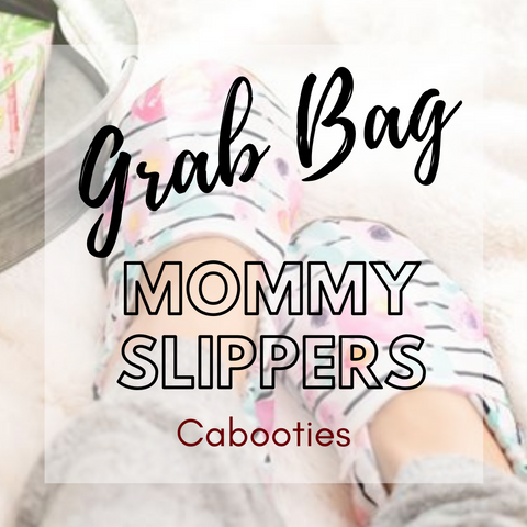 Mystery grab bag soft sole mommy slipper house shoes