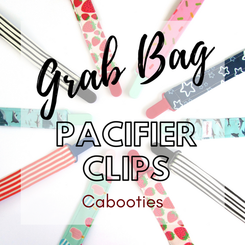 Mystery Grab Bag Universal Pacifier Clip and Toy Leash