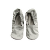 Grey Brushed Denim Women's Slippers