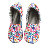 Spring Flowers Water Resistant Soft Sole Mommy and Me House Shoes Slippers