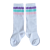Pastel Striped Knee High Socks Little Stocking Co