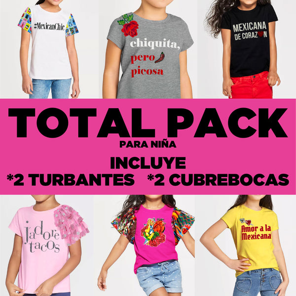 Total pack x Niña