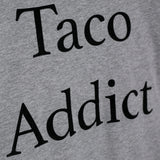 Tee gris Taco Addict bordada