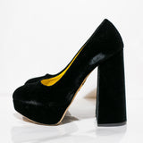 Pumps tacon ancho Charlotte Olympia