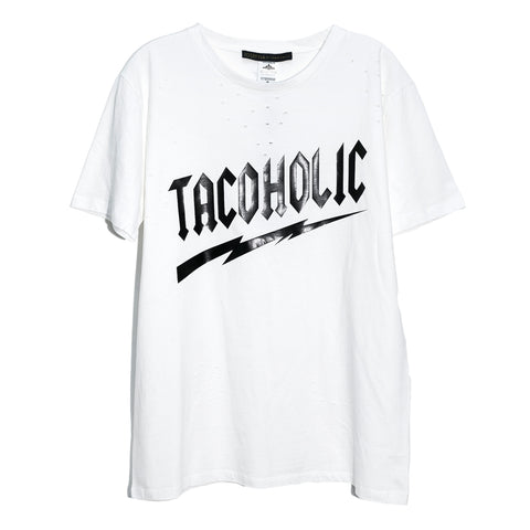 "Ripped tee ""Tacoholic"""