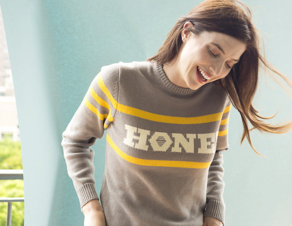 Honey Sweater | Grey