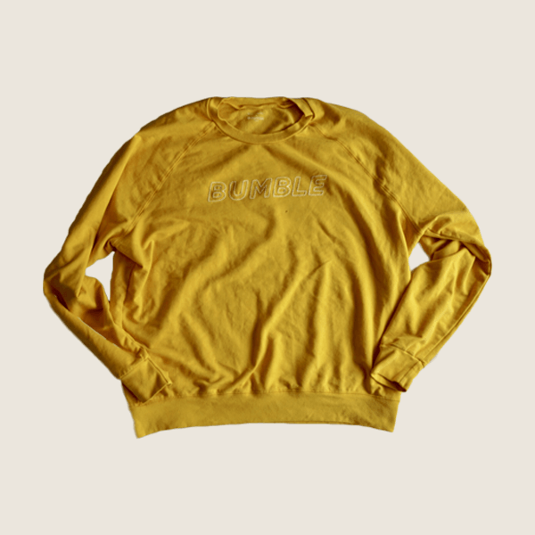 Bumble Yellow Sweatshirt