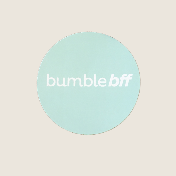 Bumble BFF Circle Sticker