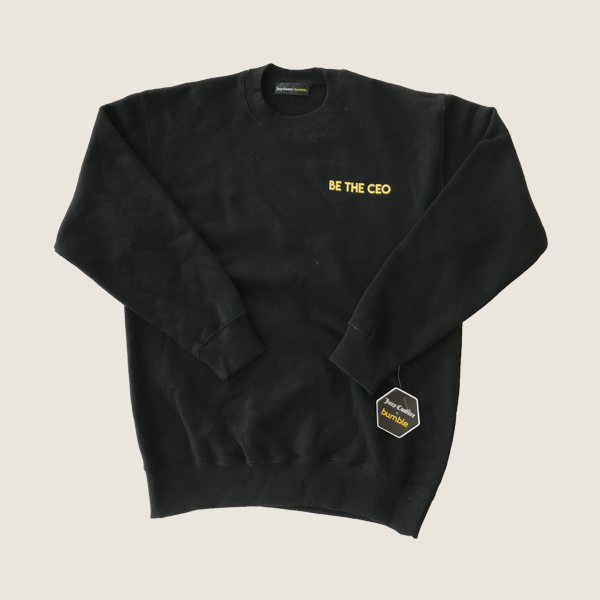 Be the CEO x Juicy Sweatshirt, Black