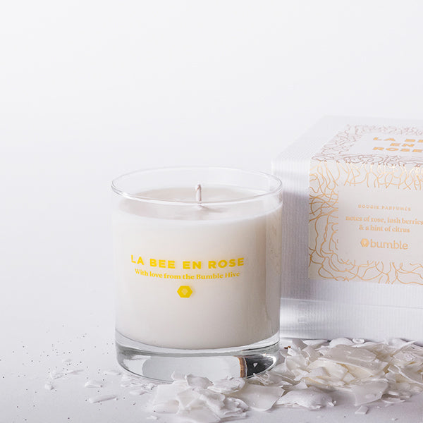 La Bee en Rose Candle