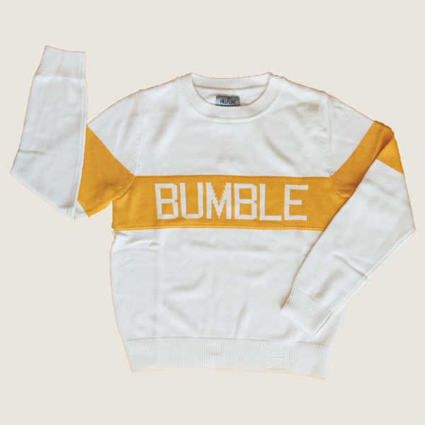 Bumble Sweater, White