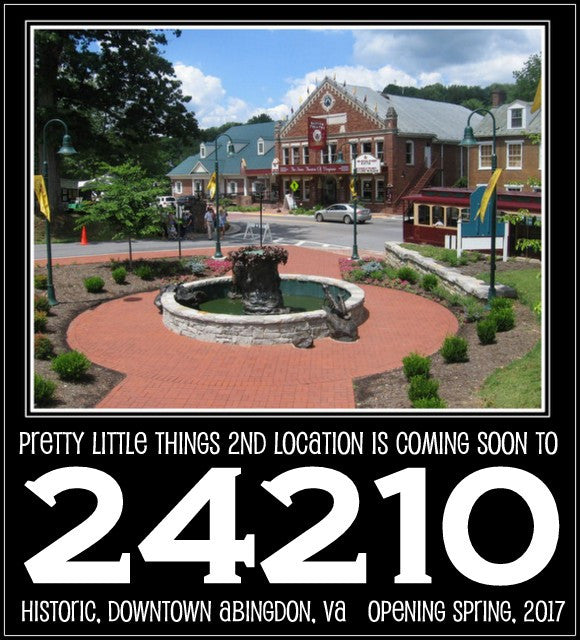 Pretty Little Thing's second location is coming soon to downtown ABINGDON, VIRGINIA!!!