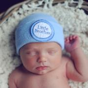 BLUE LITTLE BROTHER HAT