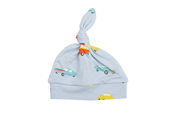 SWEET RIDE TOP KNOT HAT 0/3M