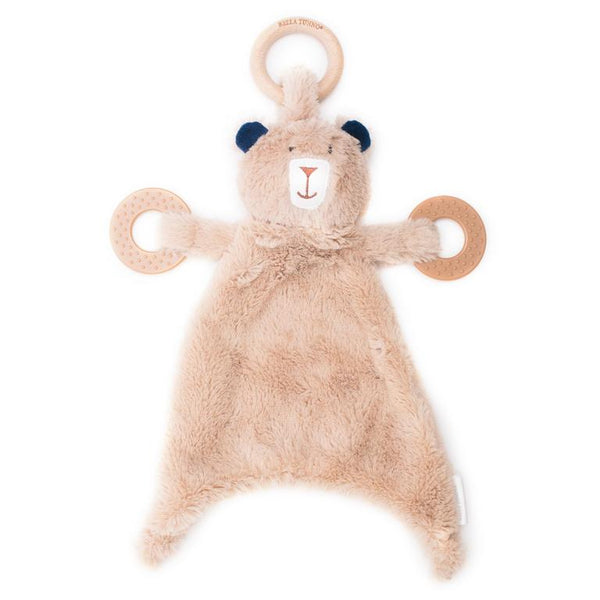 BELLA TUNNO GAVIN THE GRIZZLY SIDEKICK PLUSH TEETHER