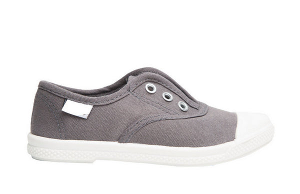 DYLAN CANVAS LACE UP IN GREY BY CHUS #21451
