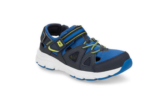 RYDER BY STRIDE RITE IN NAVY/ROYAL/LIME