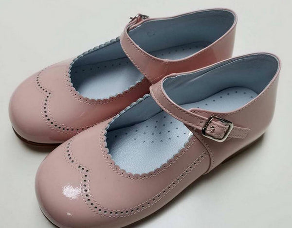 #21517 LIGHT PINK, PATENT LEATHER, MARY JANE BY GEPPETTO