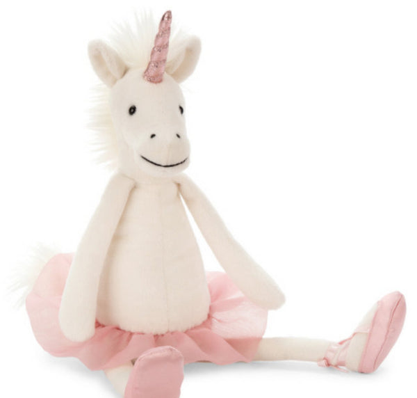 DANCING DARCEY UNICORN (Will ship by 3/10/18)