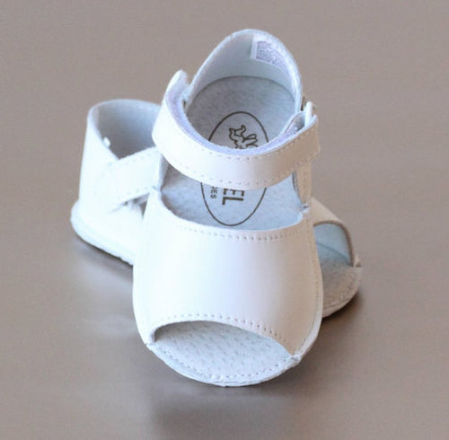 CLASSIC BABY SANDAL IN WHITE #21708