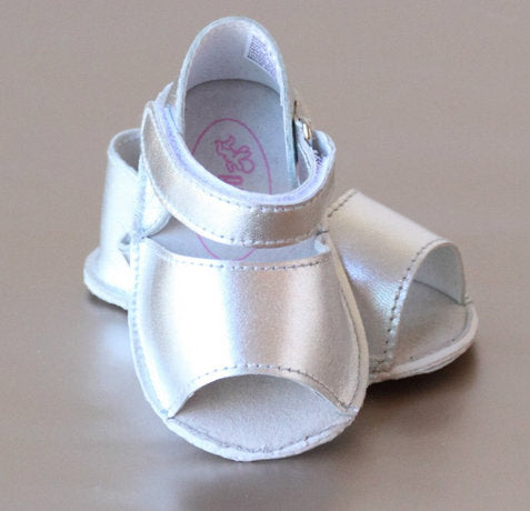 CLASSIC BABY SANDAL IN SILVER #21708