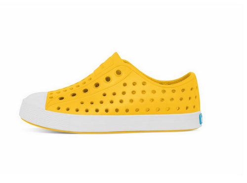 NATIVE JEFFERSON CRAYON YELLOW & SHELL WHITE