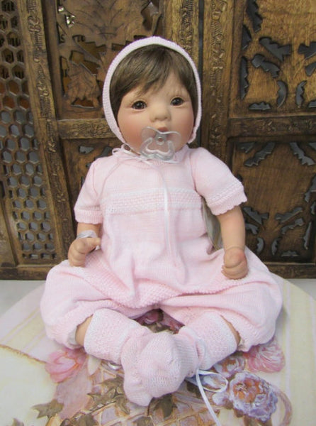 WILL'BETH PINK KNIT BUBBLE SET #855110